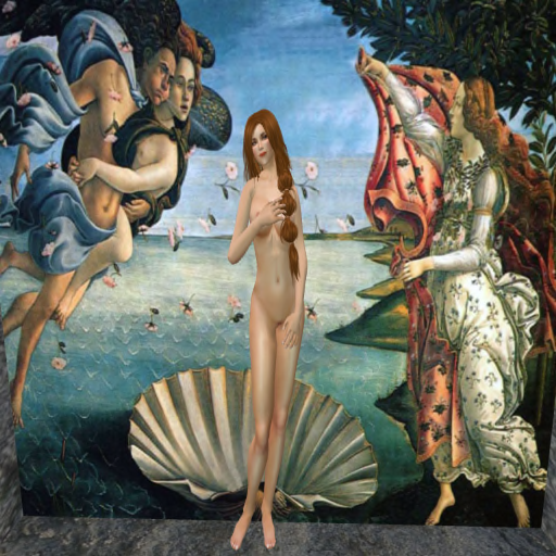 "Boticelli's ""Birth of Becky"""