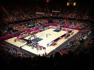 Inside the Basketball Arena