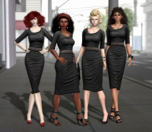 An image of Canary Beck, Vanessa Blaylock, Strawberry Singh and Yordie Sands