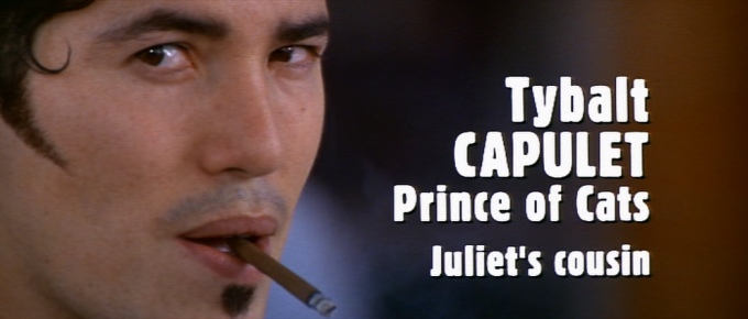 Tybalt Capulet played by John Leguziamo in Baz Luhrmann's Romeo and Juliet