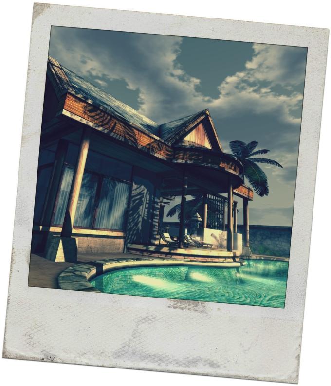 Bali Beach Home Facade