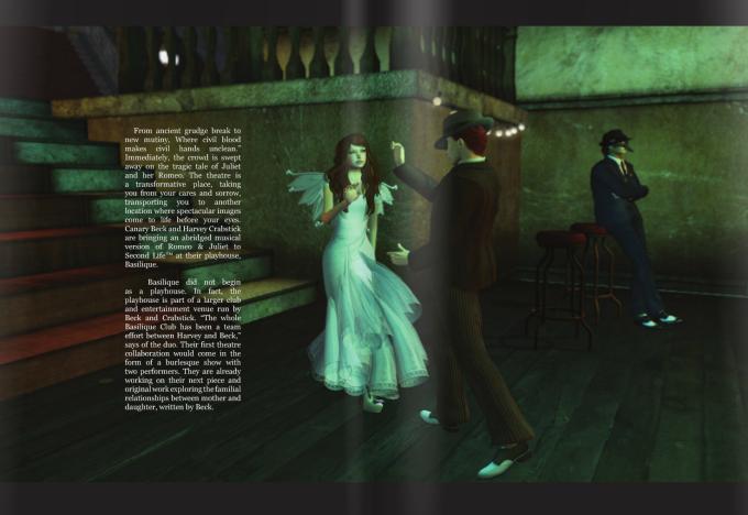 Romeo + Juliet in AVENUE Magazine 2
