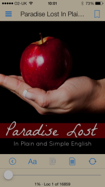 My Kindle Version of Paradise Lost
