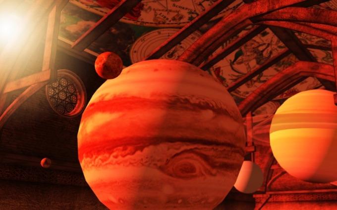 The Celestial Heavens