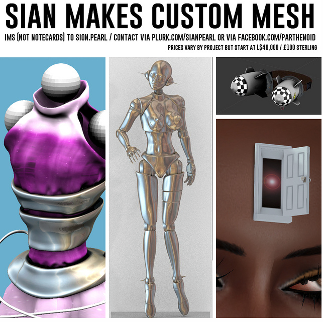 Sian Makes Custom Mesh