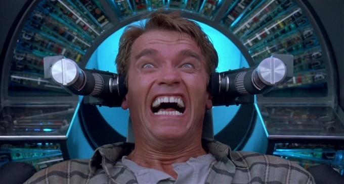Arnie in the Rekall Machine