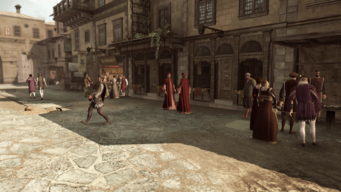 Civilians (bots) in Assassin's Creed 2