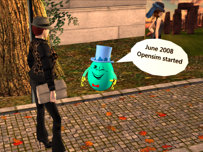 Image showing Open Sim created in 2008