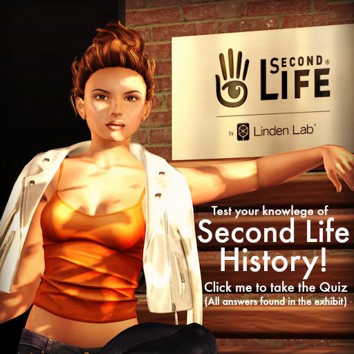 Second Life History Quiz