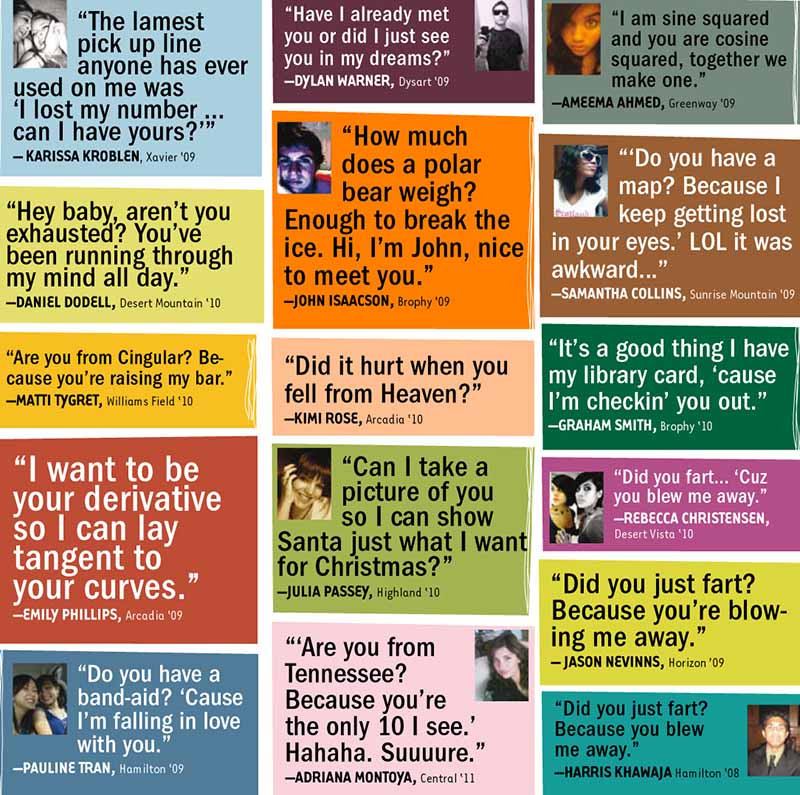 The worst pick up lines ever