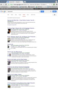 Google Books Search Second Life