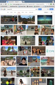 Google Images Search Second Life