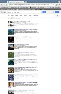 Google News Search Second Life