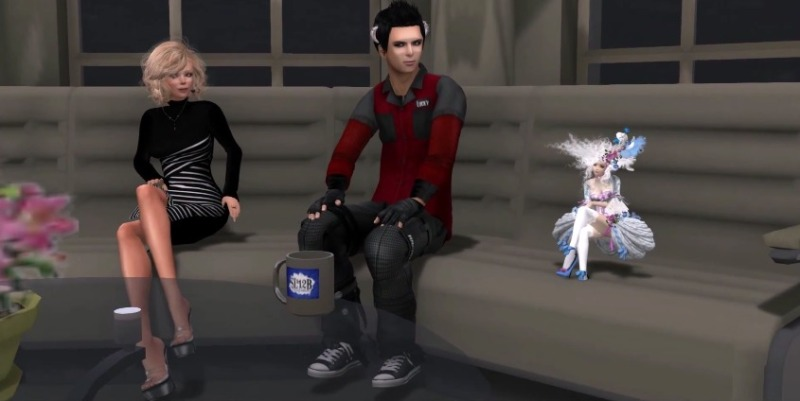 From left to right: Saffia Widdershins, Patch Linden and Dee Linden
